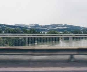blur, travel, and car image