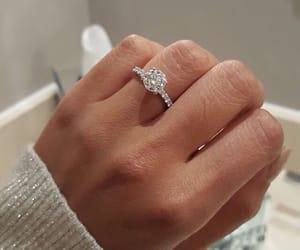 adorable, diamond, and engagement image