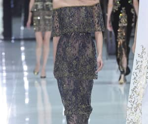 dress, fashion week, and ralph and russo image