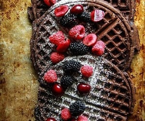 delicious, chocolate, and food image