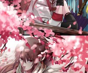 kagura and okita sougo image