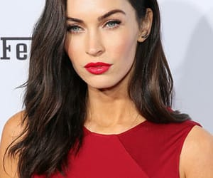 megan fox, red, and red theme image