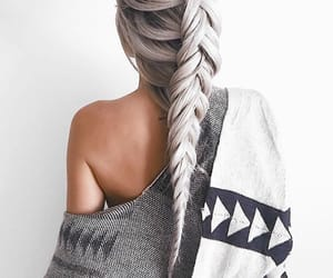 beautiful, hairstyle, and style image