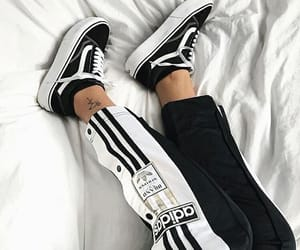 vans, adidas, and fashion image