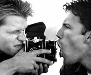 Ben Affleck, matt damon, and camera image
