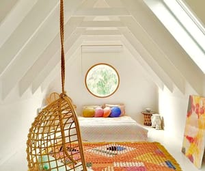 attic, swings, and bedrooms image