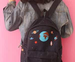 backpack, space, and bag image