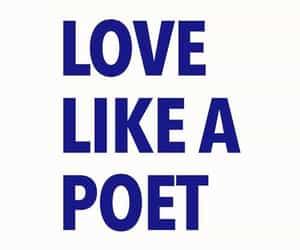 affection, blue, and poem image