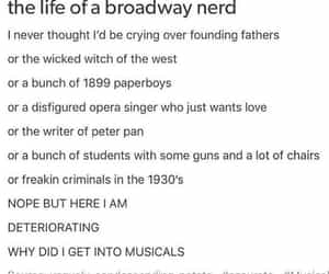 broadway, finding neverland, and hamilton image
