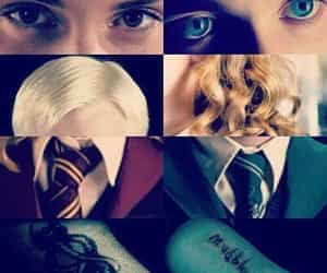 harry potter, dramione, and draco image
