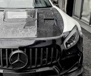 car, mercedes benz, and sports car image