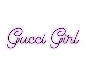 girl, gucci, and text image