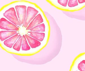 background, grapefruit, and pink image