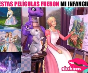 barbie, infancia, and frases en español image