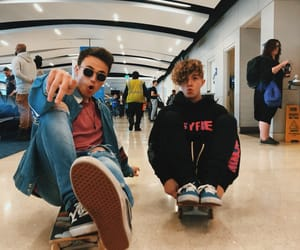 why don't we, jack avery, and airport image