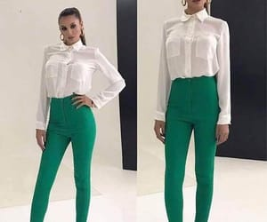 fashion, formal, and green image