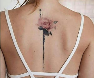 floral, flower tattoo, and flower image