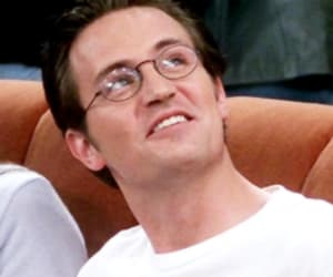 90s, chandler bing, and glasses image