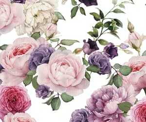 flowers, patterns, and vintage image