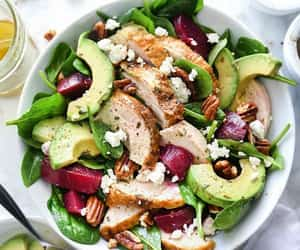 avocado, Chicken, and food image