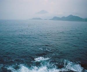 blue, dark, and indie image