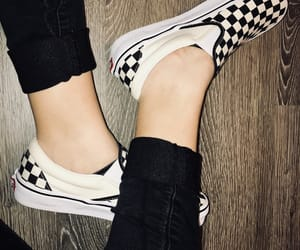 aesthetic, dark, and shoes image