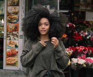 natural hair, big hair, and melanin image