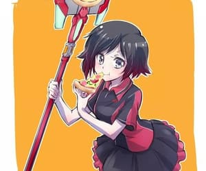 anime, anime girl, and ruby image