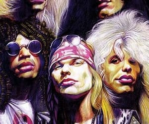 art, gnr, and axlrose image