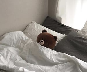 aesthetic, room, and bear image