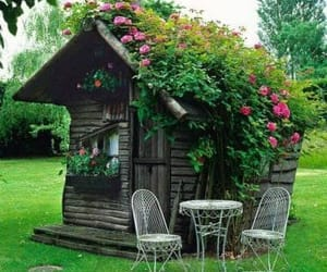 awesome, house, and roses image