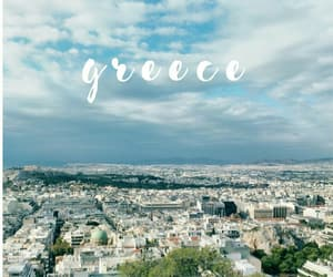 Greece and sky image
