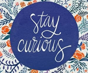 blue, curious, and stay strong image