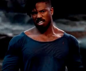 actor, black panther, and funny face image