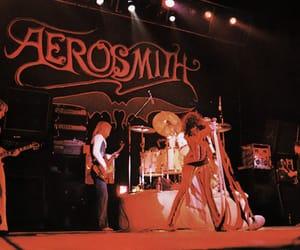 aerosmith, concert, and rock image