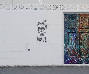 aesthetic, grunge, and the wall image
