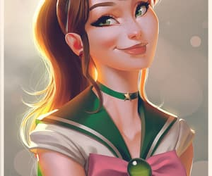 sailor moon, sailor jupiter, and anime image