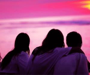 sunset, gif, and kpop image