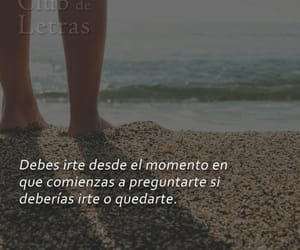 frases, frases en español, and irse image