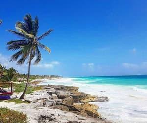 beach, méxico, and beautiful image