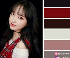colour, cheng xiao, and colour palette image