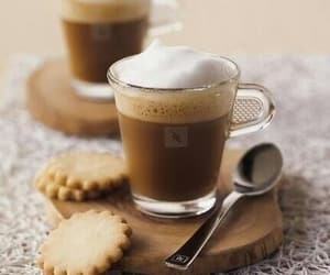 coffee, cups, and Cookies image