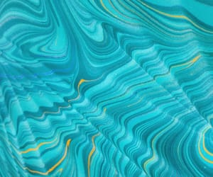 art and turquoise image