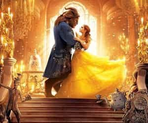 beauty and the beast, disney, and disney animation image