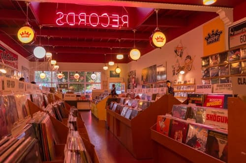 records, aesthetic, and grunge image