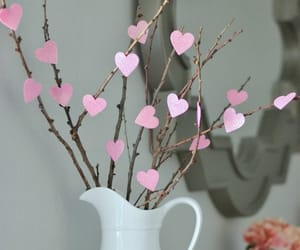 heart, diy, and pink image