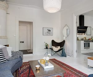 home, interior design, and living room image