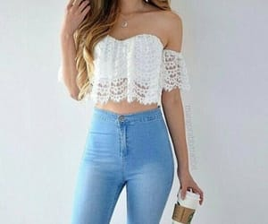 clothes and crop top image