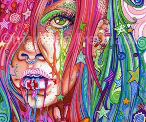 colorful, drawing, and illustration image