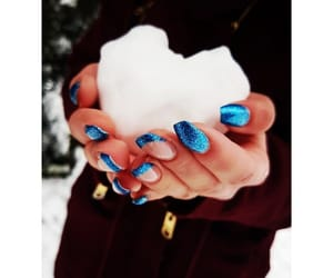 winter, cold, and nails image